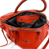 Andrew Charles New York Womens Handbag Red DARSEY