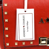 Andrew Charles New York Womens Handbag Red JAIME