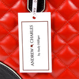 Andrew Charles New York Womens Handbag Red LILLI