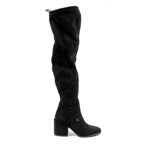 Andrew Charles New York Womens High Boot Black ALANNAH