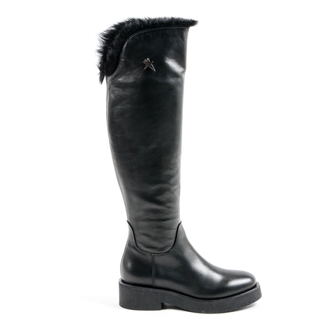 Andrew Charles New York Womens High Boot Black SUZI