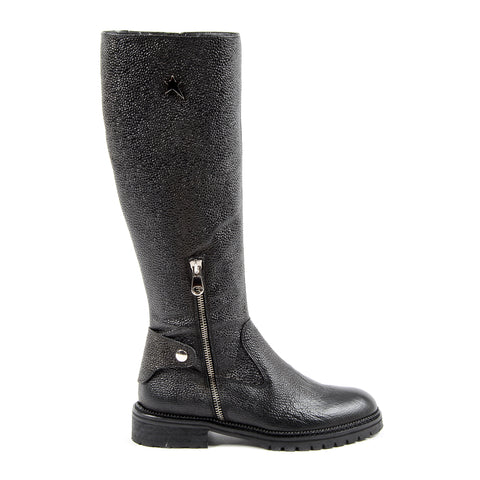 Andrew Charles New York Womens High Boot Dark Grey SUZI