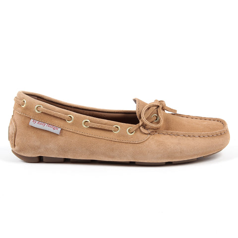 Andrew Charles New York Womens Loafer Camel CAMILLA