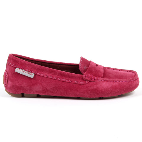 Andrew Charles New York Womens Loafer Fuxia MAX