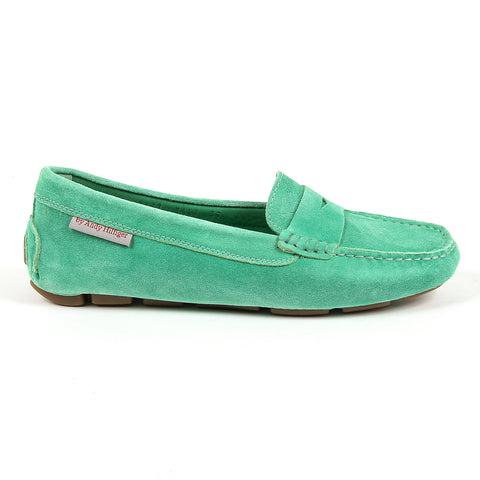 Andrew Charles New York Womens Loafer Green MAX