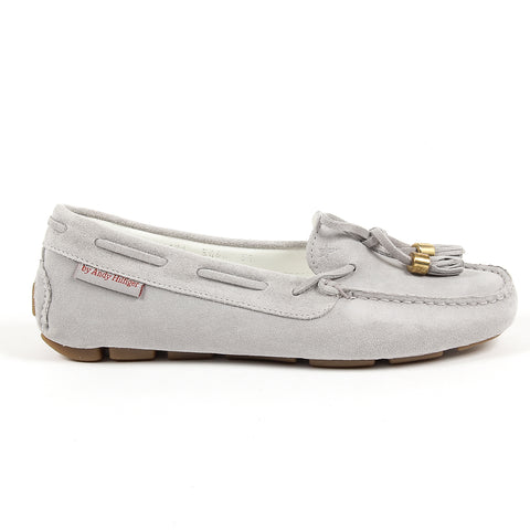 Andrew Charles New York Womens Loafer Grey VICTORY