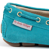 Andrew Charles New York Womens Loafer Light Blue CAMILLA