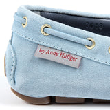 Andrew Charles New York Womens Loafer Light Blue SUNDAY