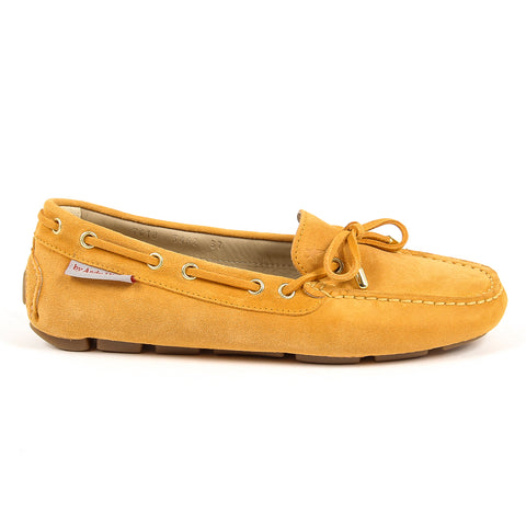 Andrew Charles New York Womens Loafer Orange SUNDAY
