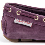 Andrew Charles New York Womens Loafer Purple CAMILLA