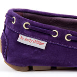 Andrew Charles New York Womens Loafer Purple GIULY
