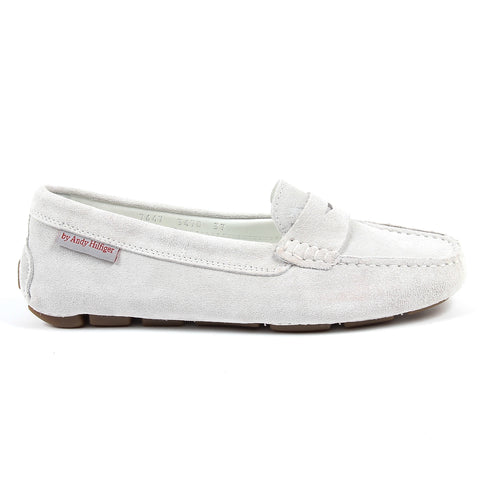 Andrew Charles New York Womens Loafer White MAX