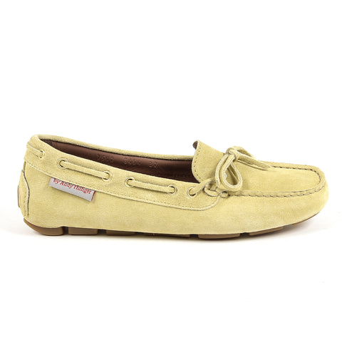 Andrew Charles New York Womens Loafer Yellow CAMILLA