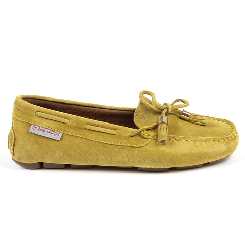 Andrew Charles New York Womens Loafer Yellow VICTORY