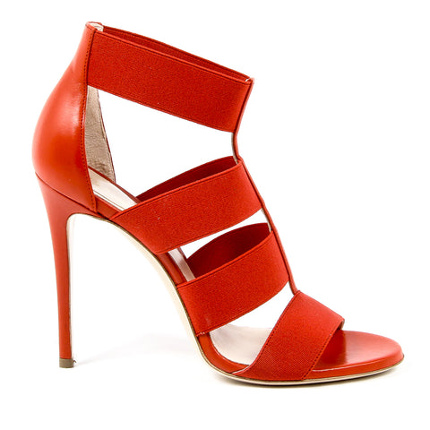 Andrew Charles New York Womens Sandal Red GAIA