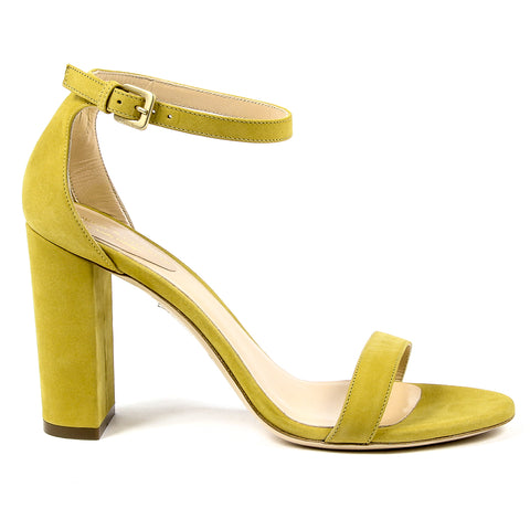 Andrew Charles New York Womens Sandal Yellow EMMA