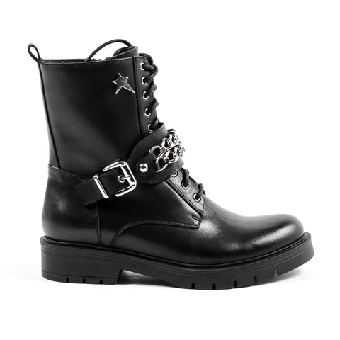 Andrew Charles New York Womens Short Boot Black AMY