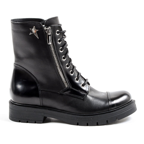 Andrew Charles New York Womens Short Boot Black KARMA