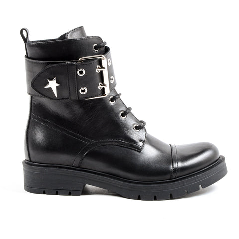 Andrew Charles New York Womens Short Boot Black MEG