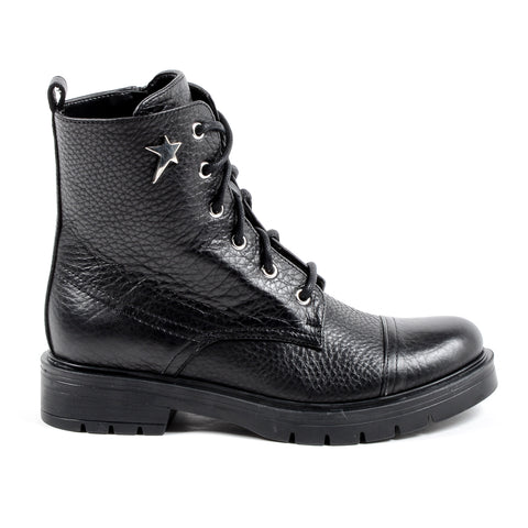 Andrew Charles New York Womens Short Boot Black MIVIDA