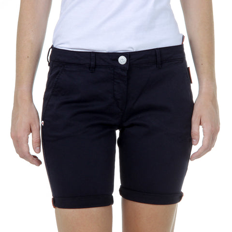 Andrew Charles New York Womens Shorts Dark Blue SAFIA