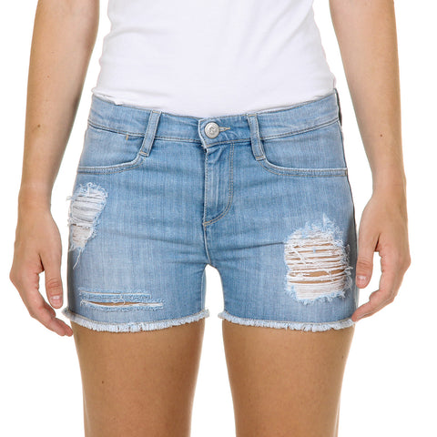 Andrew Charles New York Womens Shorts Denim VERGINIA