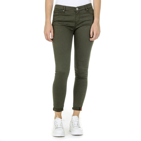 Andrew Charles New York Womens Trousers Green CLAIRE