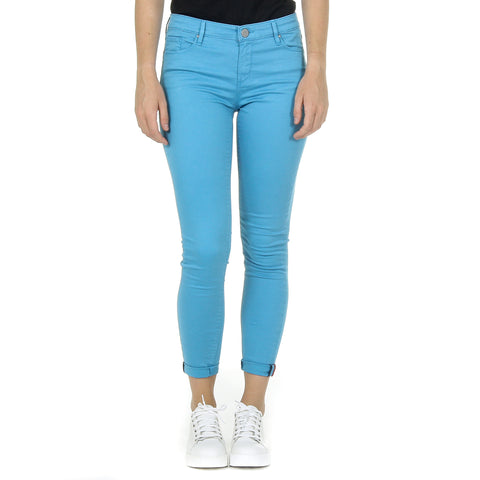 Andrew Charles New York Womens Trousers Light Blue CLAIRE