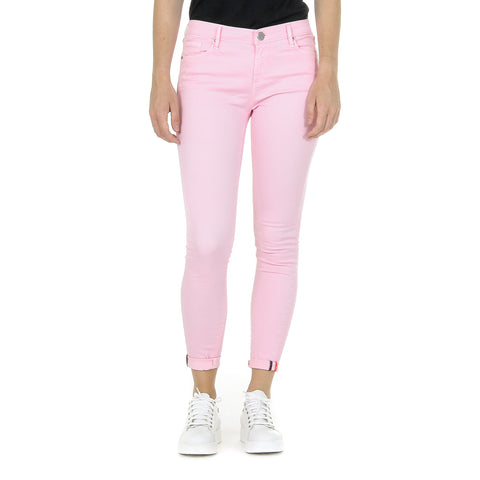 Andrew Charles New York Womens Trousers Pink CLAIRE