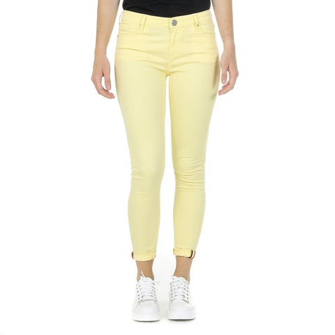 Andrew Charles New York Womens Trousers Yellow CLAIRE