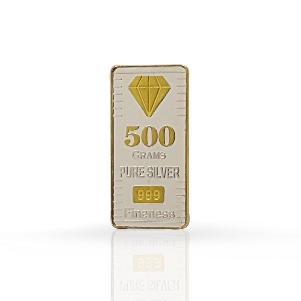 Silver Bar 500 gram 999 Purity