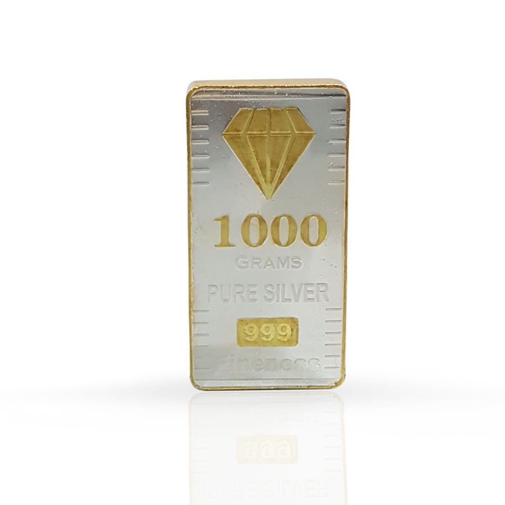 Silver Bar 1000 gram 999 Purity