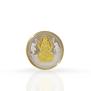 Silver Coin Laxmi ji 50 gram 999 Purity