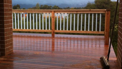 Delatitle Carpentry - Merbau Decking and Balustrade