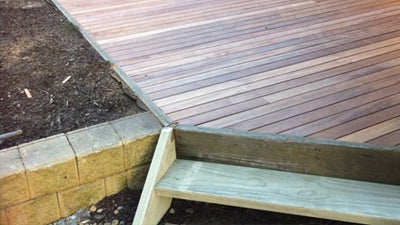 Delatitle Carpentry - Merbau Decking