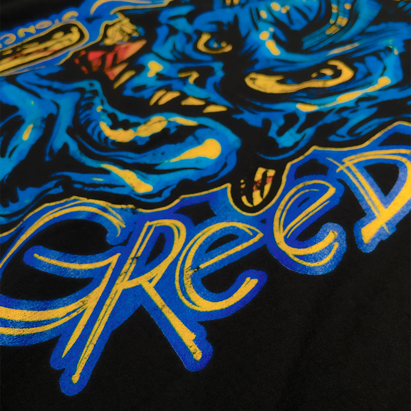 """Greed"" Long Sleeve Shirt - Stoned Cult Apparel"