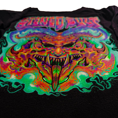 """Hellwave"" Long Sleeve Shirt - Stoned Cult Apparel"