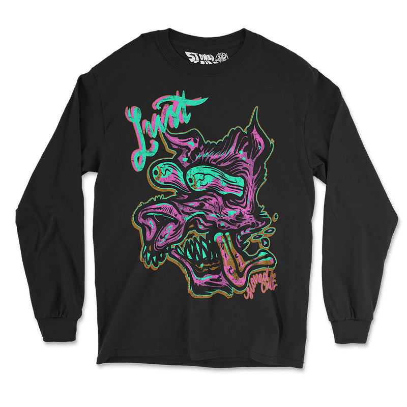 """Lust"" Long Sleeve Shirt - Stoned Cult Apparel"