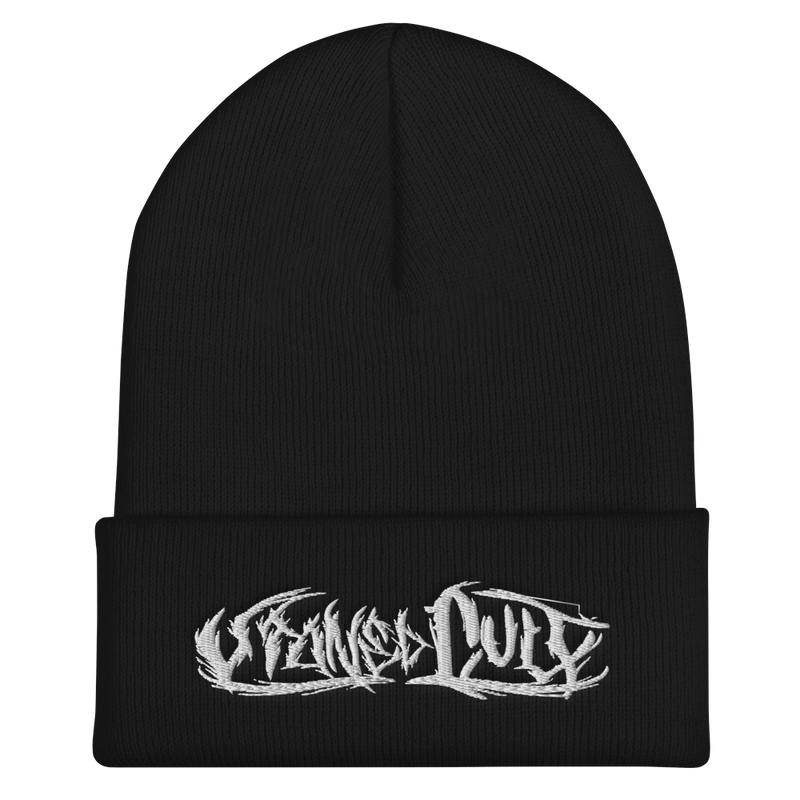 """Metal Logo"" Beanie - STONED CULT APPAREL"