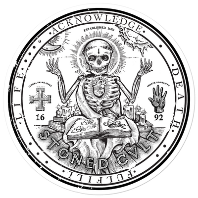 """Seal"" sticker - STONED CULT APPAREL"