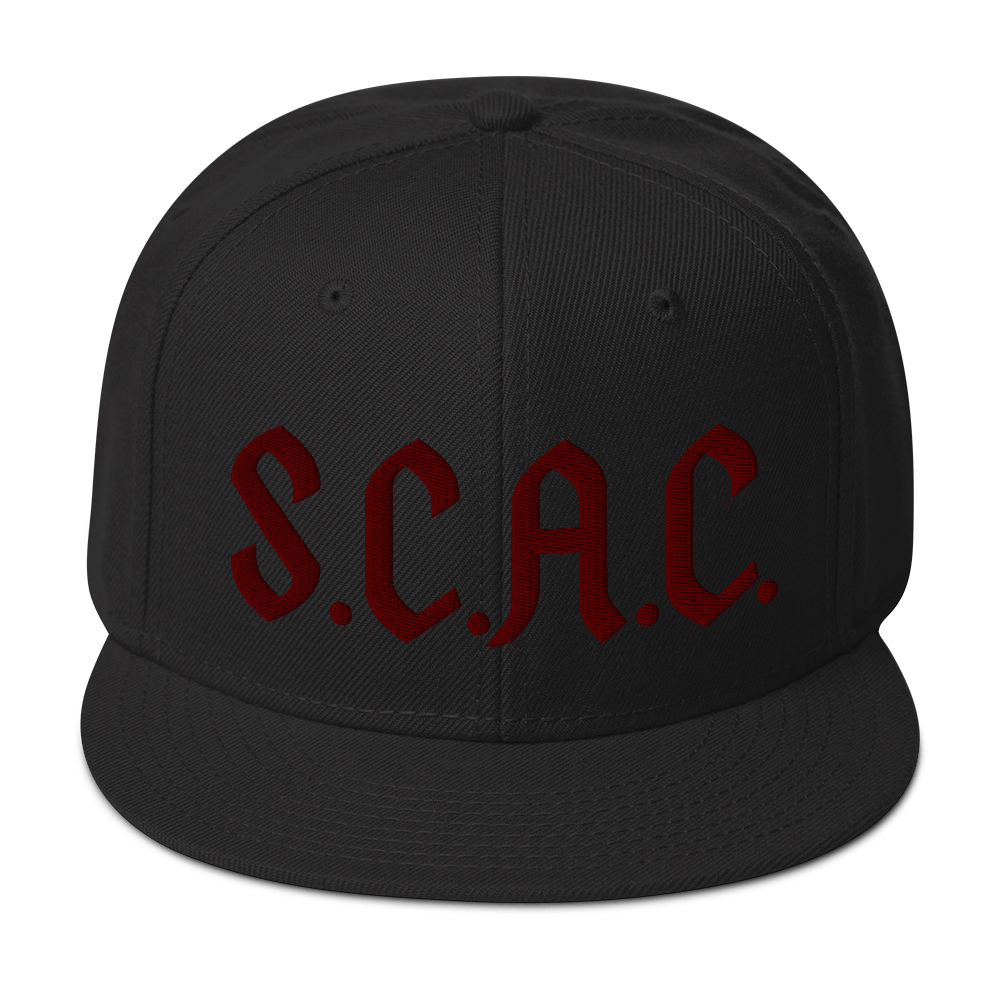 """S.C.A.C."" Snapback - STONED CULT APPAREL"