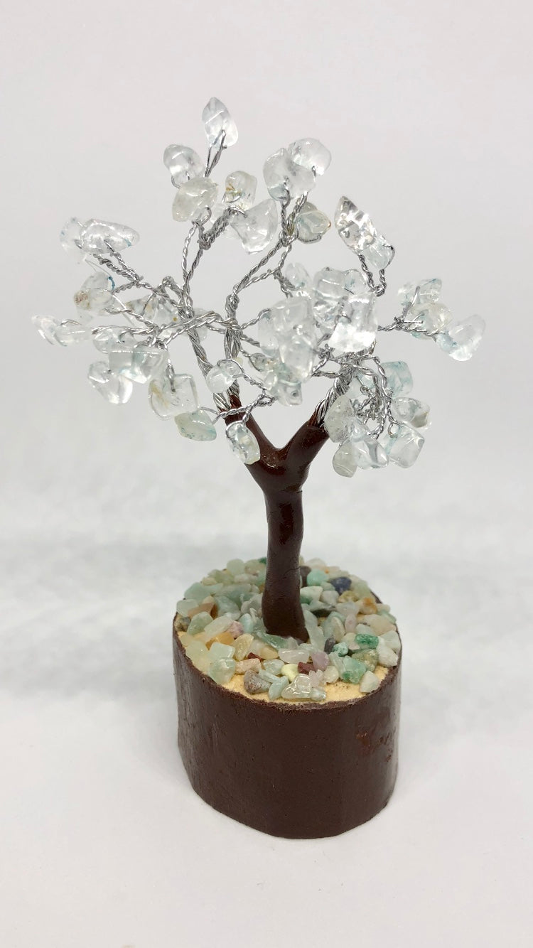Tree of Life Blue Topaz Mini