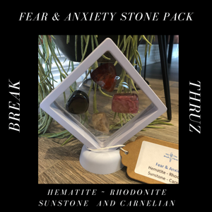 Fear and Anxiety Stone Pack