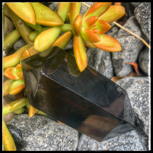 Smokey Quartz DT Point