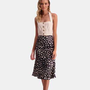 Pink Venom:Kelly Midi Skirt,Womens Skirt