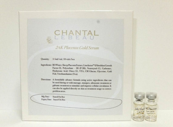 24K Placenta Gold Serum