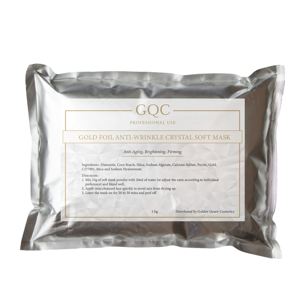 Gold Foil Anti-Wrinkle Crystal Soft Mask 1 kg Pack