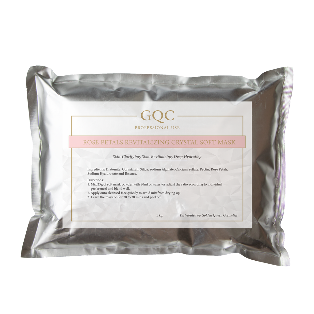 Rose Petals Revitalizing Crystal Soft Mask 1 kg Pack