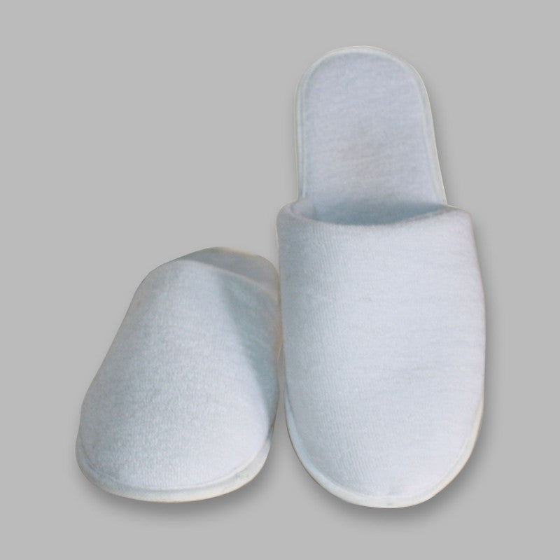 Slippers - Towel (Closed Toe)