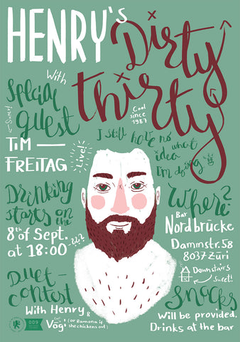 Tim Freitag X Henry's Dirty Thirty 2017